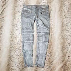 Michael Kors moto skinny jeans